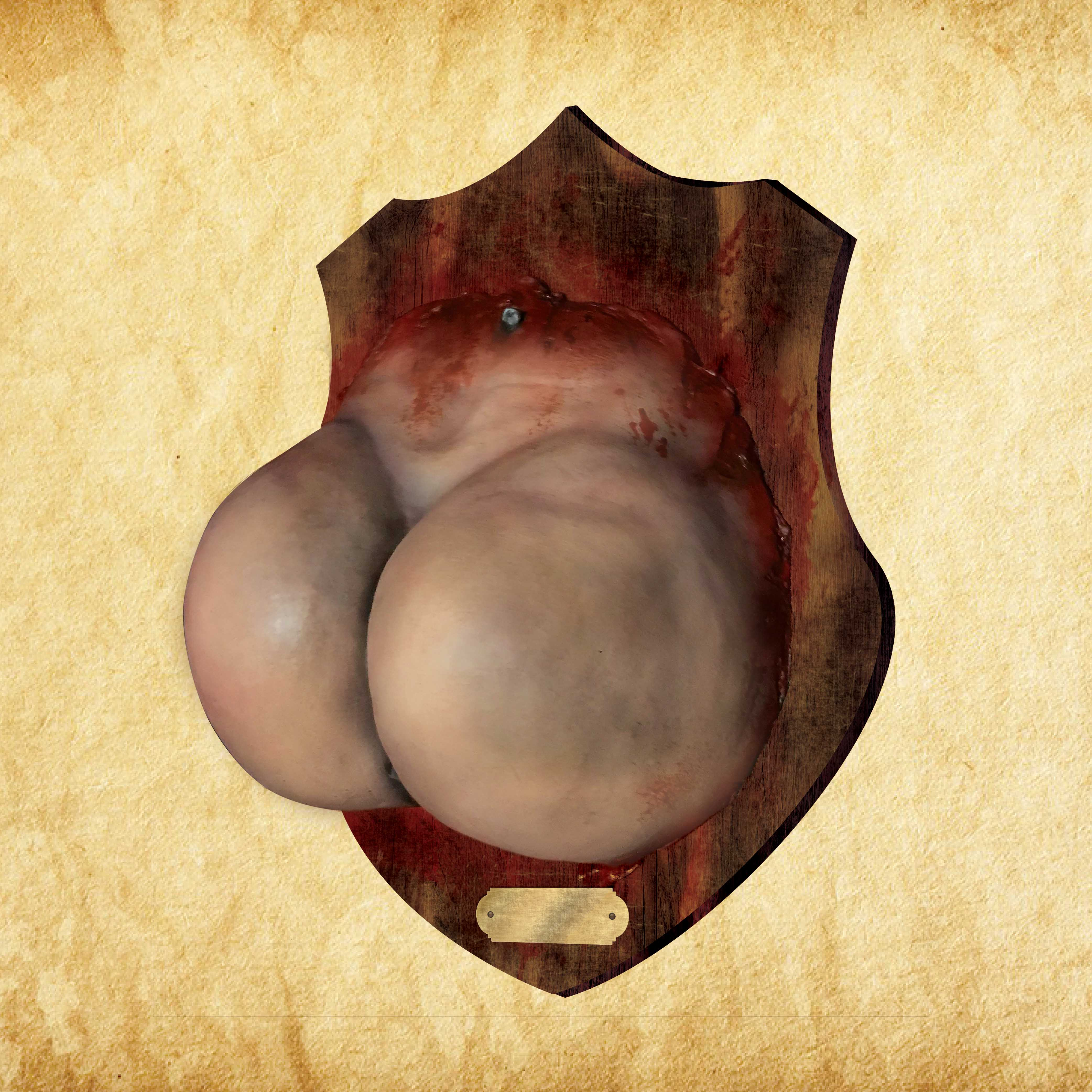 Butt Plaque - Round N' Plump