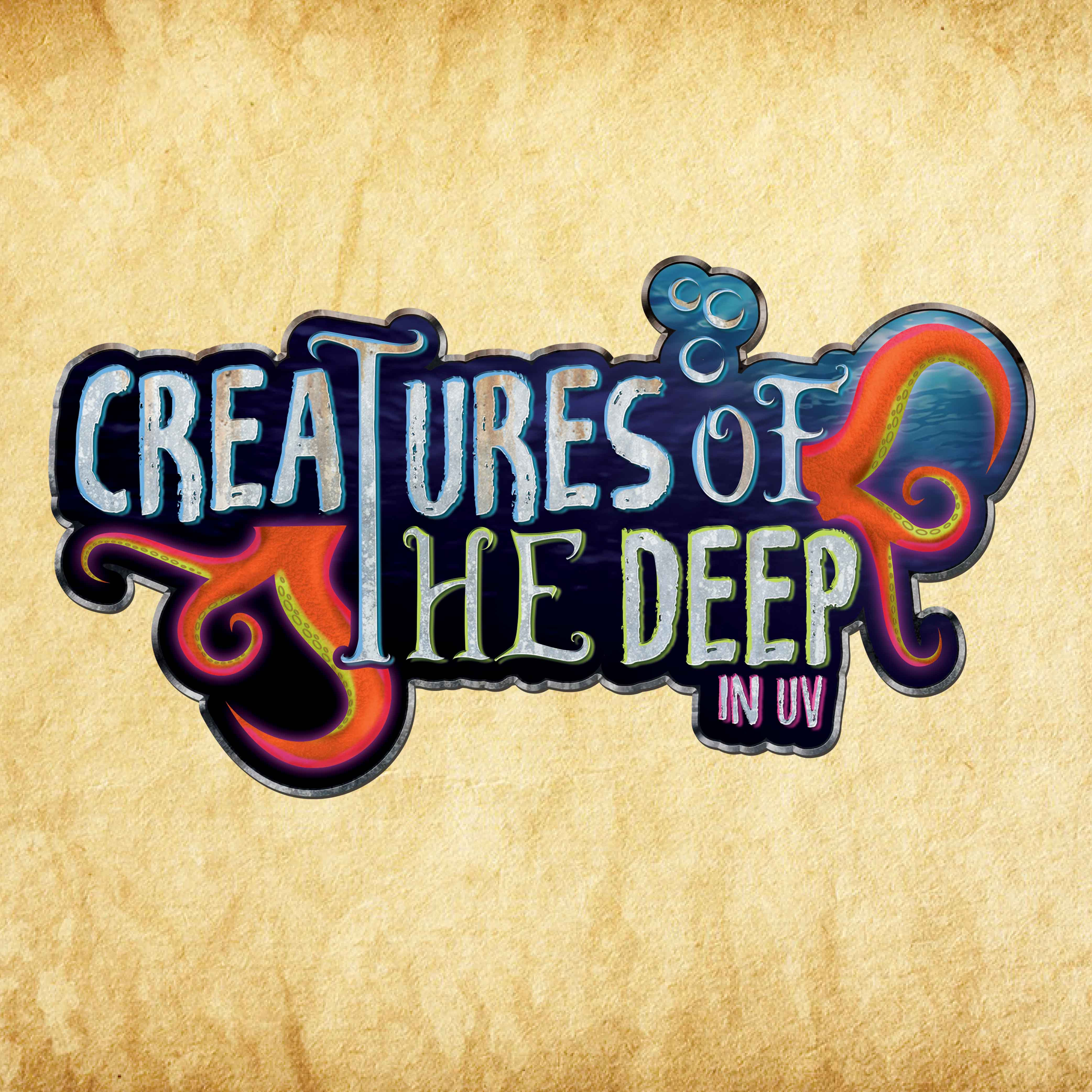 Creatures of the Deep in UV