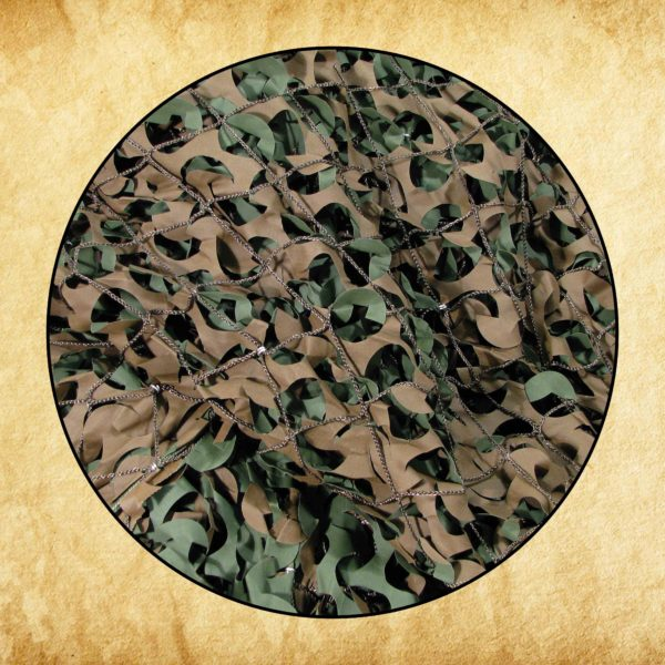 Woodland Military - FR Green/Brown - 10x20ft